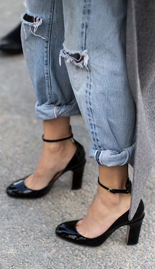Rolled-up-denim